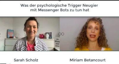 Sarah Scholz Messenger Bot