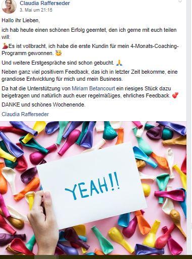 Social Proof Claudia