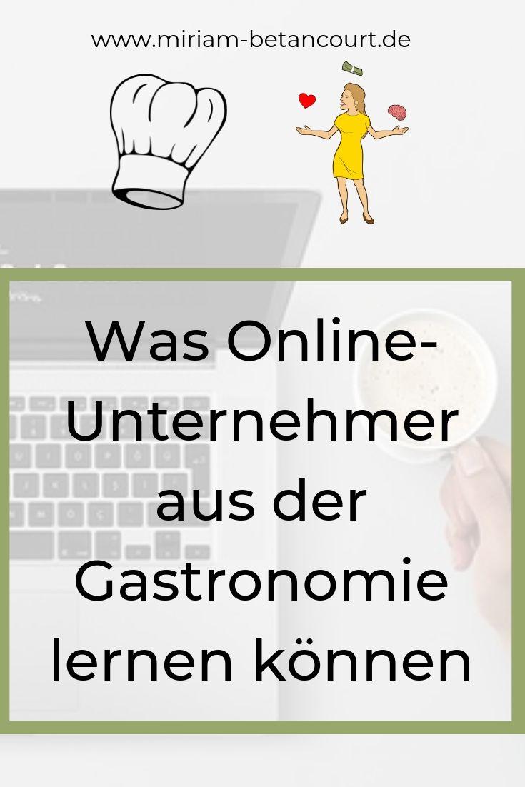 Was Onlineunternehmer von der Gastronomie lernen können