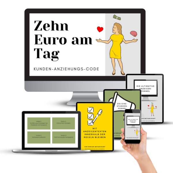 10 Euro am Tag Kunden Anziehungs Code